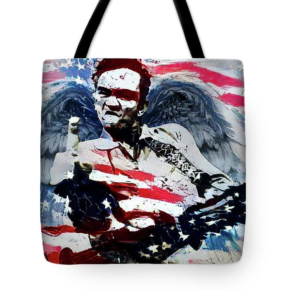 American Outlaw - Johnny Cash Tote Bag