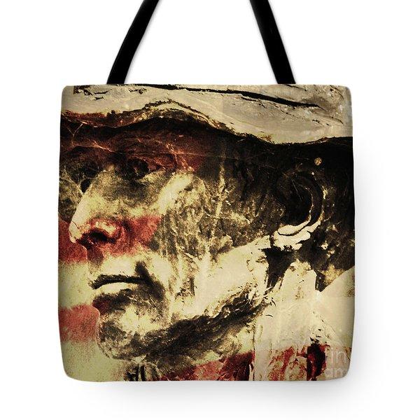 American Patriot Tote Bag by Kathleen K Parker