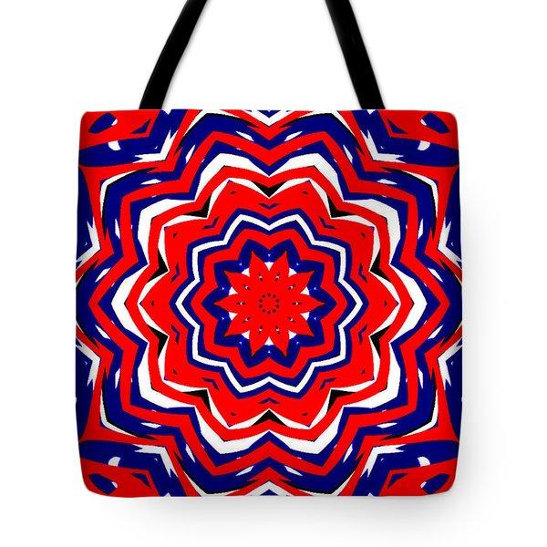 Kaleidoscope 5555 Tote Bag