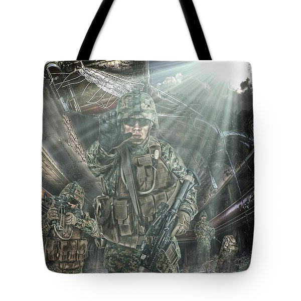 American Patriots Tote Bag