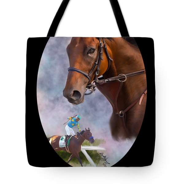 American Pharoah Framed Tote Bag