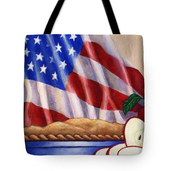 American Pie Tote Bag by Linda Mears