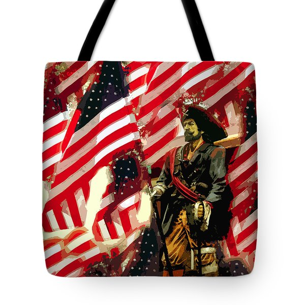 American Pirate Tote Bag by David Lee Thompson