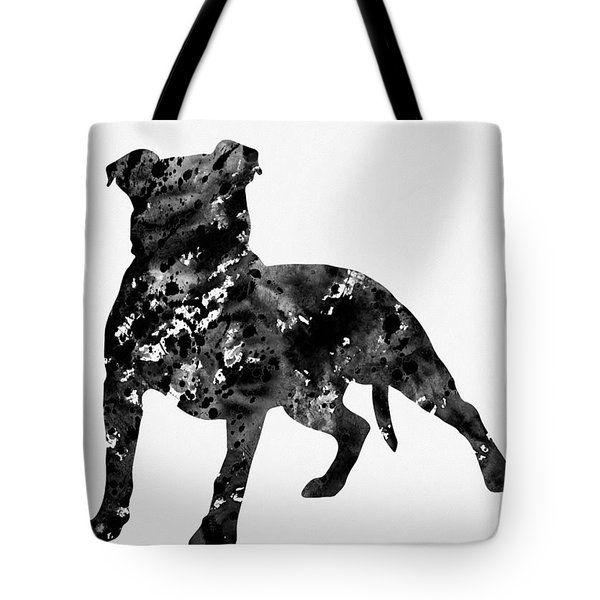American Pit Bull Terrier-black 2 Tote Bag