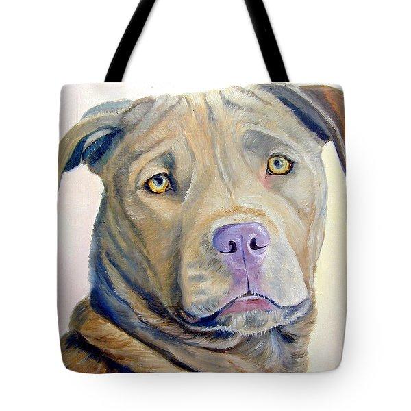 American Pitbull Terrier Tote Bag