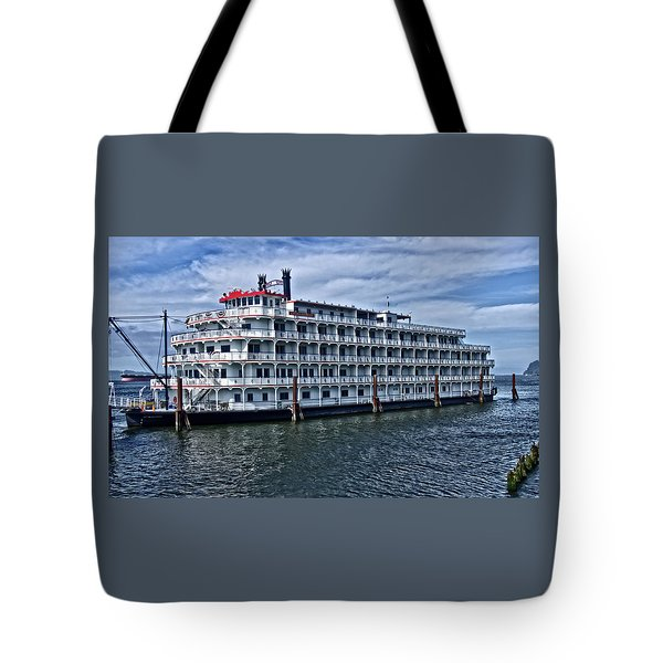 Tote Bag featuring the photograph American Pride by Thom Zehrfeld