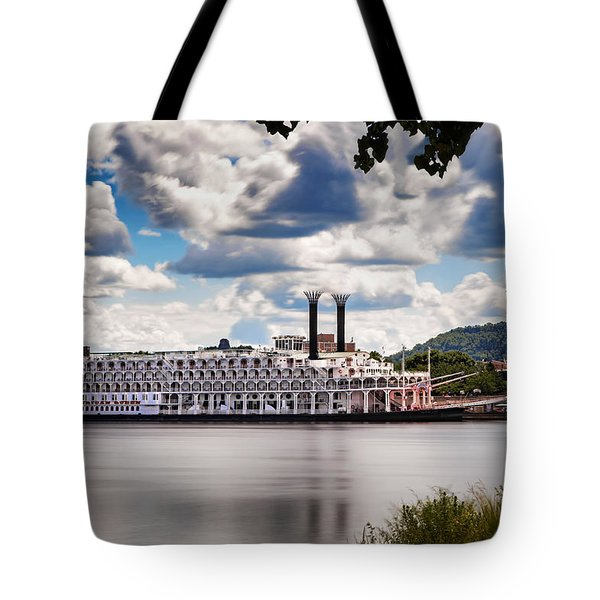 American Queen In Winona Tote Bag