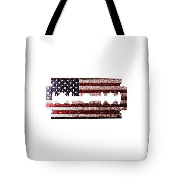American Razor Tote Bag