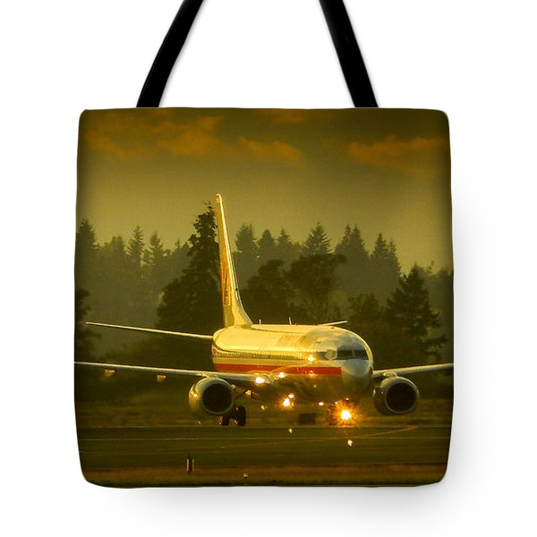 American Ready For Take-off Tote Bag
