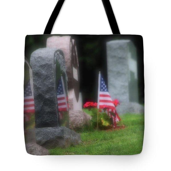 American Reflections Tote Bag by Karol Livote