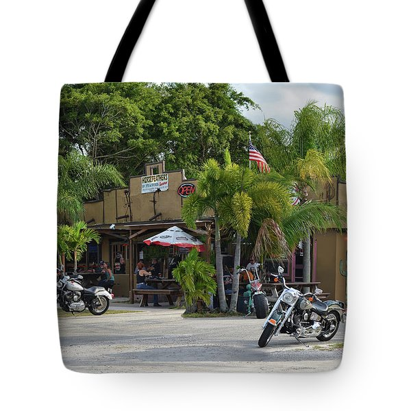 Tote Bag featuring the photograph American Roadhouse by Laura Fasulo