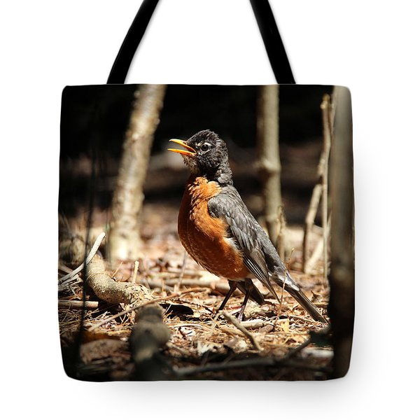 American Robin New York Tote Bag