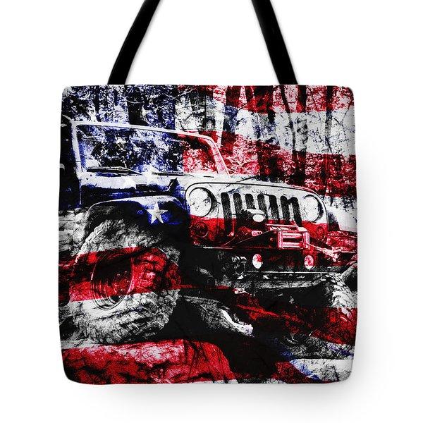 American Rock Crawler Tote Bag