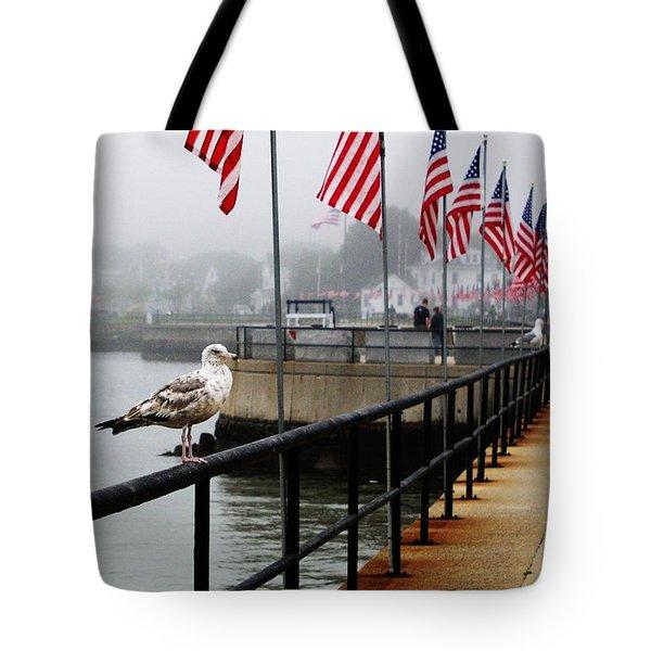 American Seagull Tote Bag