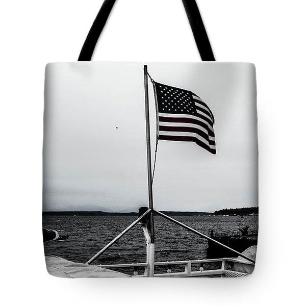American Seattle Tote Bag