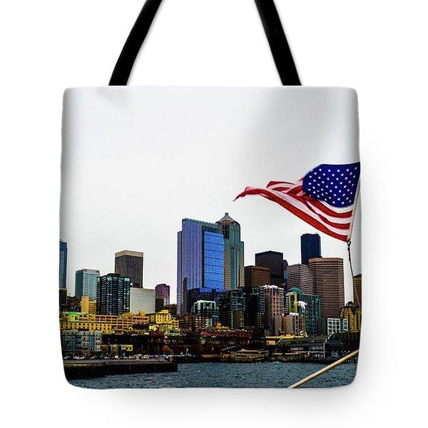 American Seattle Ic Tote Bag