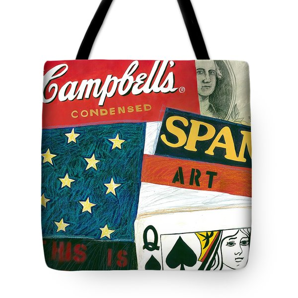 American Self Portrait Tote Bag by Gerry High
