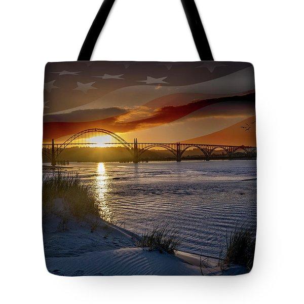 American Skies Tote Bag
