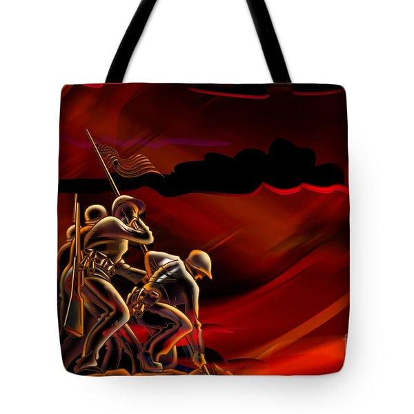 American Soldiers Tote Bag