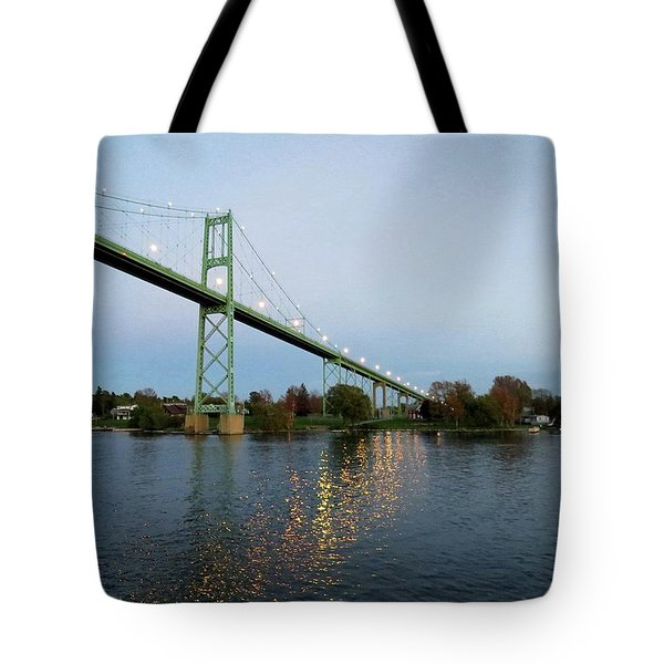 American Span Thousand Islands Bridge Tote Bag