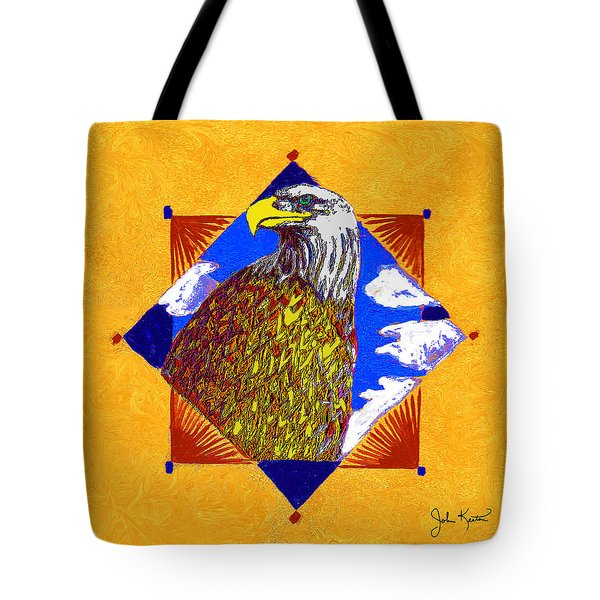 American Spirit Tote Bag by John Keaton