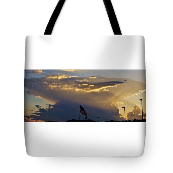 American Supercell Tote Bag