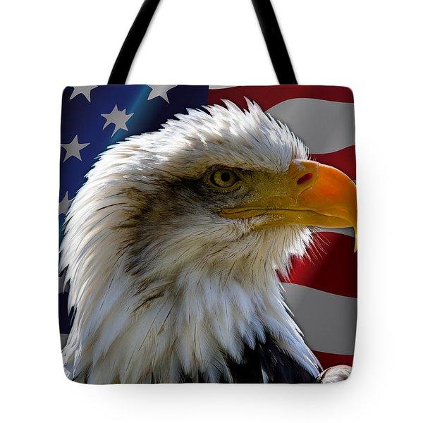 America  Tote Bag