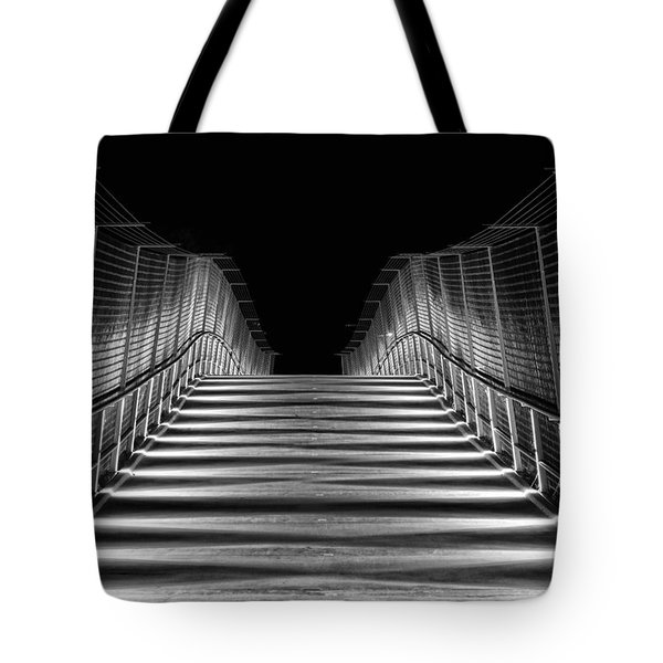American Tobacco Trail Bridge  Tote Bag