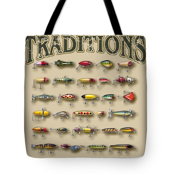 American Traditions Lures Tote Bag