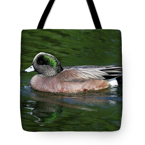 American Wigeon Anas Americana Duck Tote Bag