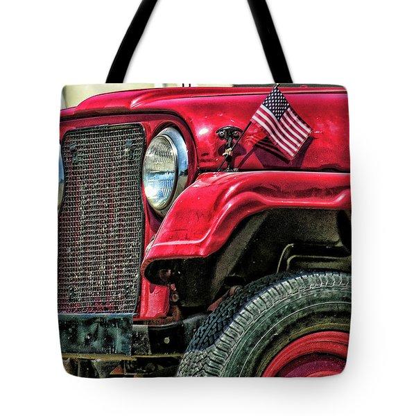 American Willys Tote Bag by Adam Vance