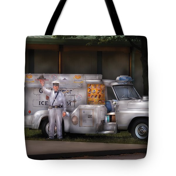 Americana -  We Sell Ice Cream Tote Bag by Mike Savad