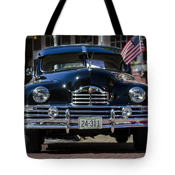 Tote Bag featuring the photograph Americana by Andrea Silies