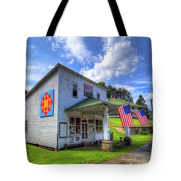 Americana Tote Bag by Dale R Carlson