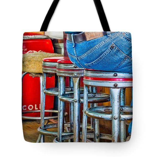 Americana Break Time Tote Bag