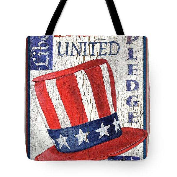 Americana Patriotic Tote Bag