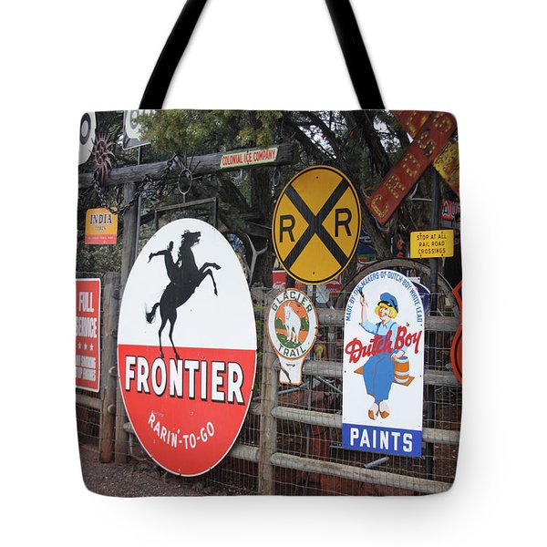 Tote Bag featuring the photograph Americana Rt.66 by Elvira Butler