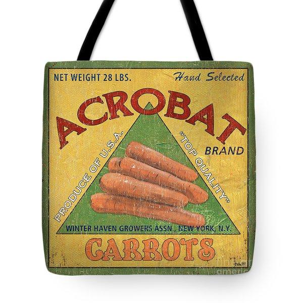 Americana Vegetables 2 Tote Bag