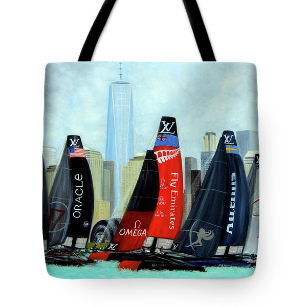 America's Cup New York City Tote Bag