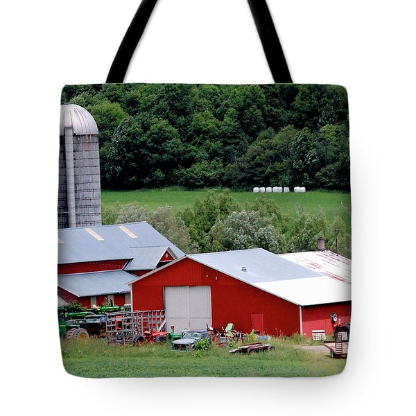 Americas Heartland Tote Bag by DigiArt Diaries by Vicky B Fuller