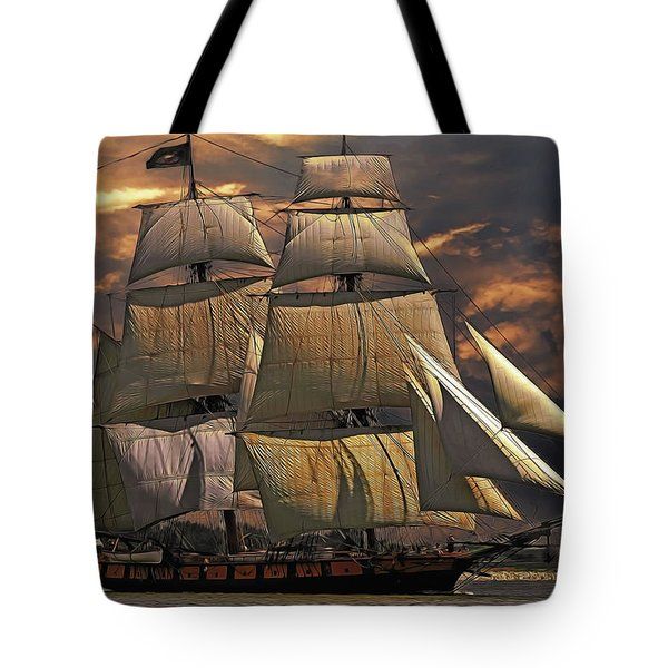 America's Ship Tote Bag