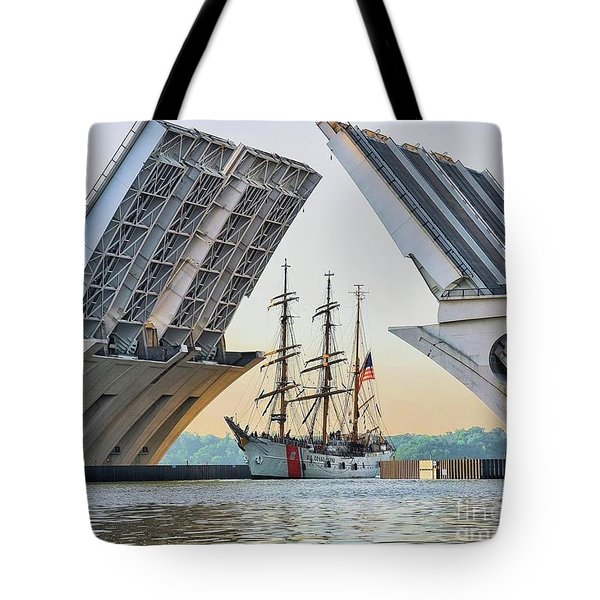 America's Tall Ship Tote Bag
