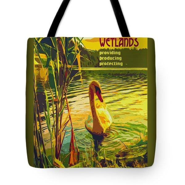 Americas Wetlands Tote Bag