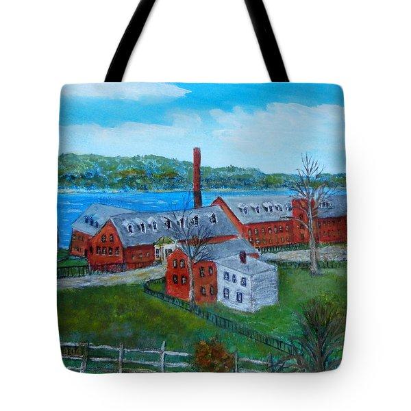 Amesbury Hat Shop Tote Bag