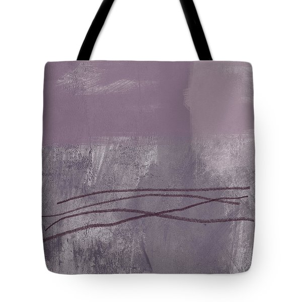 Amethyst 1- Abstract Art By Linda Woods Tote Bag