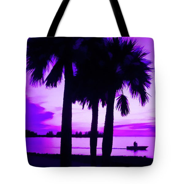 Tote Bag featuring the photograph Amethyst Beach Sunset by Aimee L Maher Photography and Art Visit ALMGallerydotcom