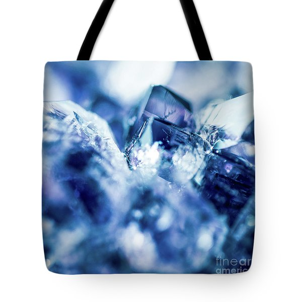 Tote Bag featuring the photograph Amethyst Blue by Sharon Mau
