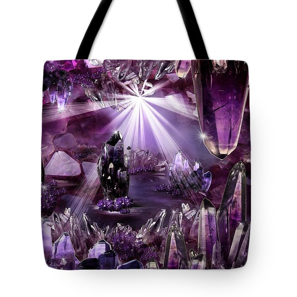 Amethyst Dreams Tote Bag