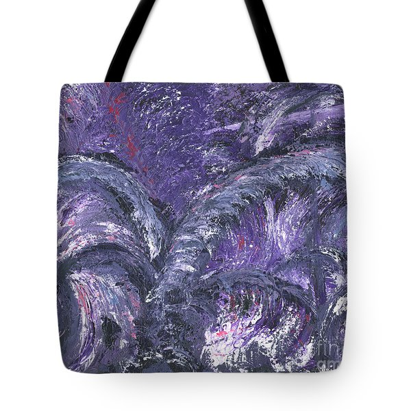 Amethyst Is The Color Of Your Energy Tote Bag