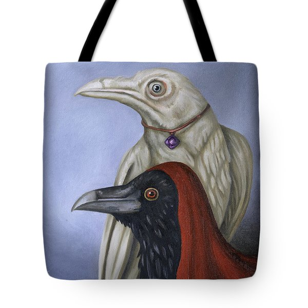 Amethyst Tote Bag by Leah Saulnier The Painting Maniac